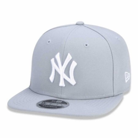 Boné New York Yankees 950 Basic White on Gray MLB - New Era