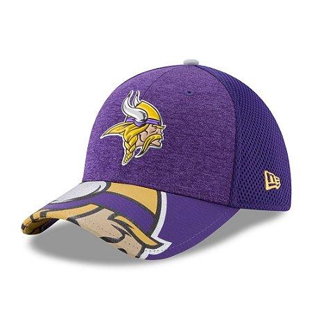 Boné Minnesota Vikings Draft 2017 On Stage 3930 - New Era