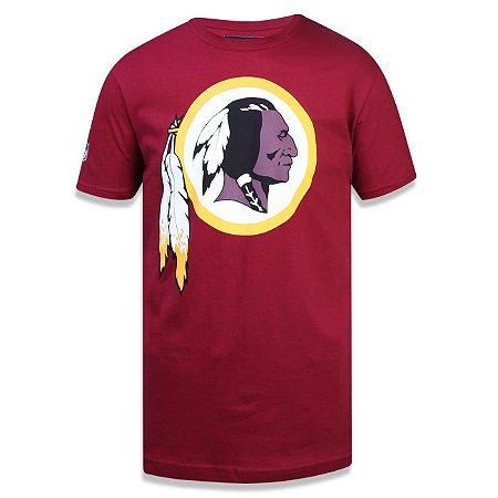5e526a63f4a56 Camiseta Washington Redskins Basic Vermelho - New Era - FIRST DOWN ...