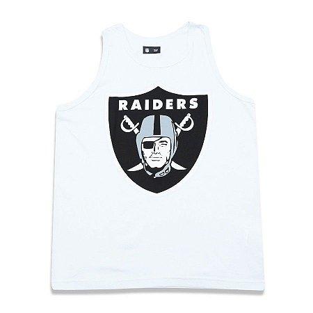 Regata Oakland Raiders Basic Branco - New Era