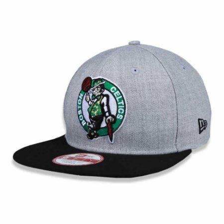 Boné Boston Celtics 950 HTRGRY Cinza NBA - New Era