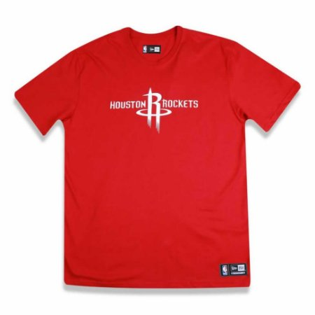 Camiseta Houston Rockets NBA Basic Vermelho - New Era