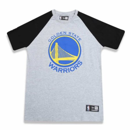 Camiseta Golden State Warriors NBA Heather Basic - New Era