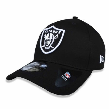 Boné Oakland Raiders 3930 White on Black - New Era