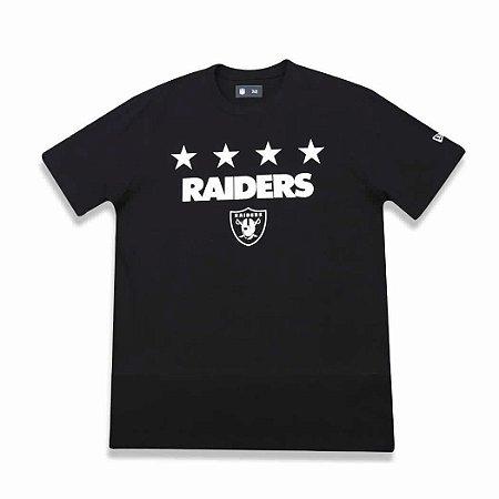 Camiseta Oakland Raiders Number star NFL - New Era