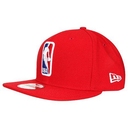 Boné Basic Logo NBA 950 Snapback Vermelho - New Era