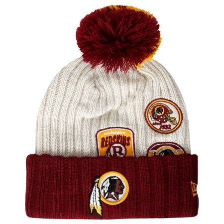 Gorro Touca Washington Redskins Vintage Knitter - New Era