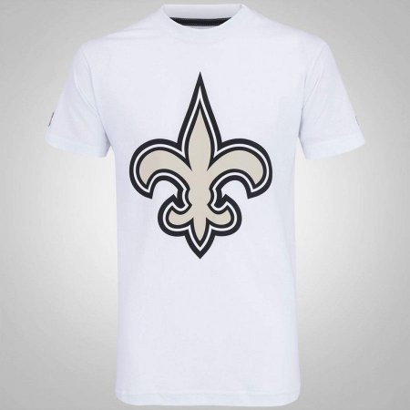 Camiseta New Orleans Saints Basic Branco - New Era