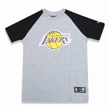 Camiseta Los Angeles Lakers NBA Heather Basic - New Era