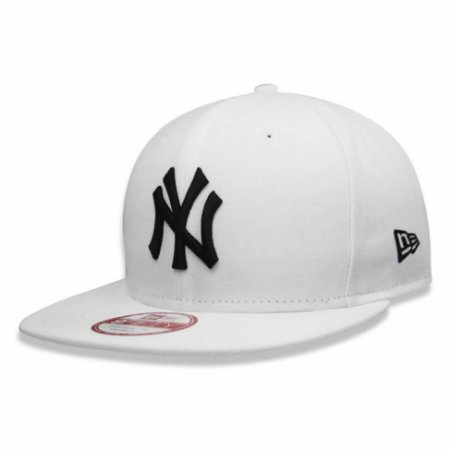 Boné New York Yankees 950 Black on White MLB - New Era