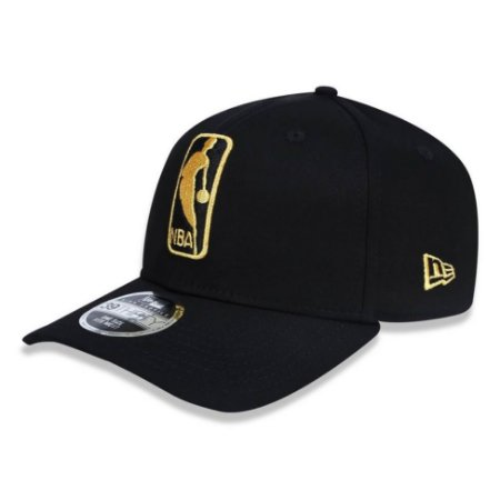 Boné NBA logo 3930 Basic Dourado e Preto - New Era