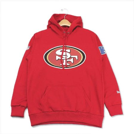 Casaco Moletom San Francisco 49ers Basic Logo VM - New Era