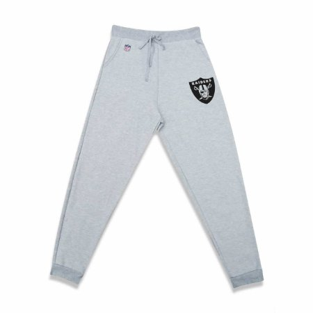Calça Oakland Raiders Moletom NFL Cinza - New Era