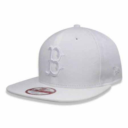 7b9e0b7469042 Boné Boston Red Sox 950 White on White Branco MLB - New Era - FIRST ...