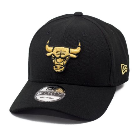 Boné Chicago Bulls 940 Snapback Gold on Black - New Era - FIRST DOWN ... dcc00101261