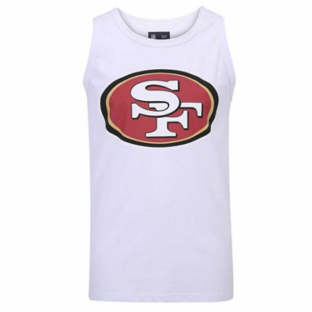 6163d9c4e4 Regata San Francisco 49ers Branco - New Era - FIRST DOWN - Produtos ...