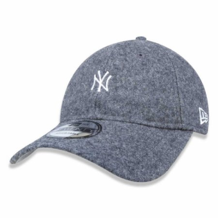 Boné New York Yankees 920 Mini Logo Cinza - New Era