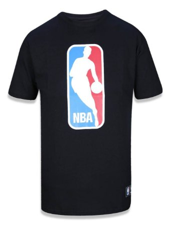 Camiseta LogoMan NBA Preto - New Era