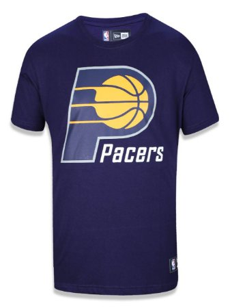 Camiseta Indiana Pacers NBA Basic Azul - New Era
