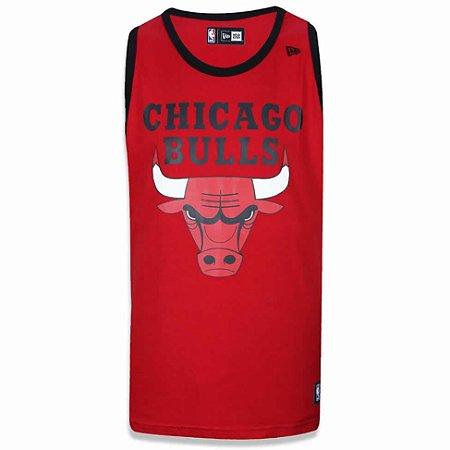 Regata Chicago Bulls Basic Vermelho - New Era