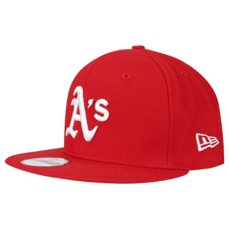 Boné Oakland Athletics 950 White on Red MLB - New Era