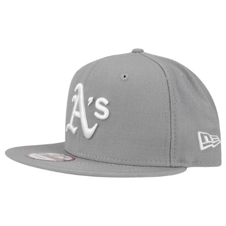 Boné Oakland Athletics A's 950 White on Gray MLB - New Era