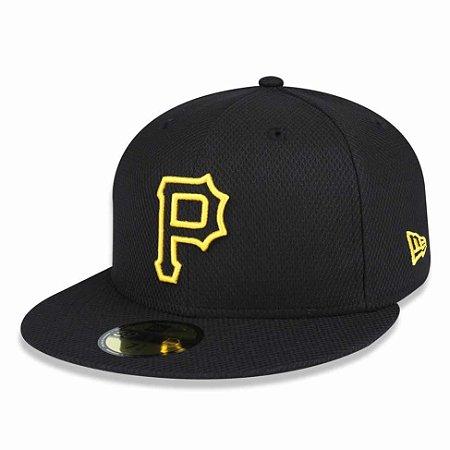 Boné Pittsburgh Pirates 5950 Diamond Fechado - New Era