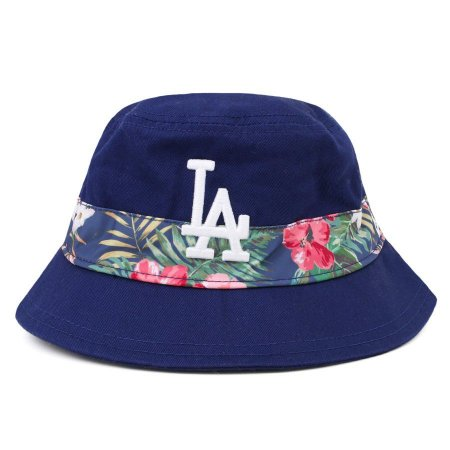 Chapéu Bucket Los Angeles Dodgers MLB Print Vibe Azul - New Era