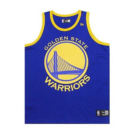 Regata Golden State Warriors Basic Azul - New Era