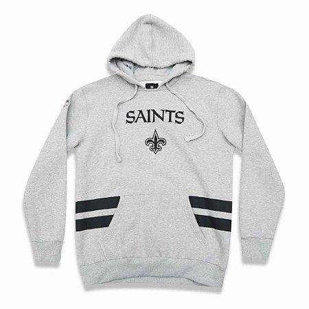 Casaco Moletom New Orleans Saints Listras- New Era