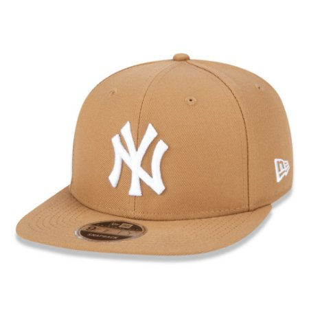 Boné New York Yankees 950 Basic White on Kaki MLB - New Era