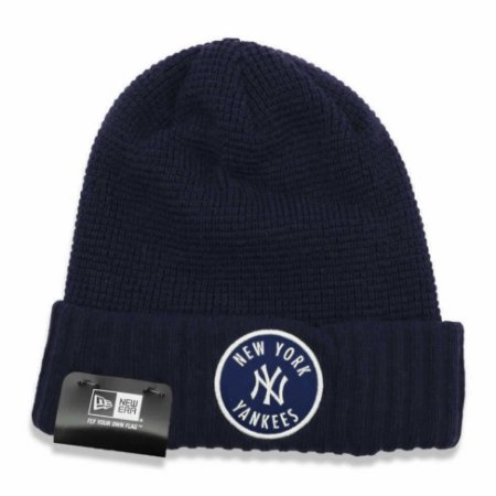 Gorro Touca New york Yankees Emblem Waffle Azul - New Era