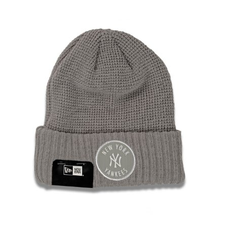 Gorro Touca New york Yankees Emblem Waffle Cinza - New Era
