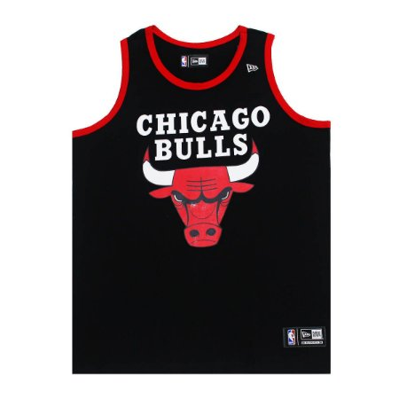 Regata Chicago Bulls Basic Preto - New Era