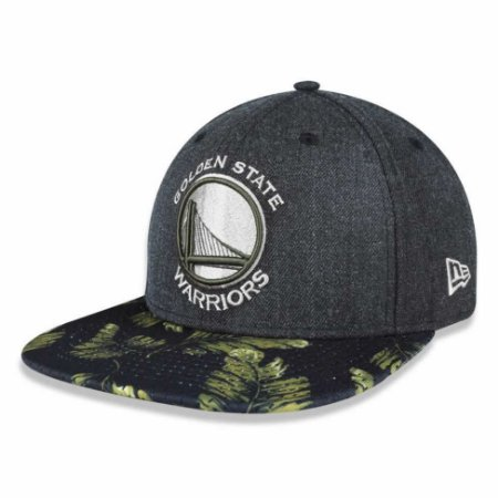 Boné Golden State Warriors 950 Palm Cinza NBA - New Era