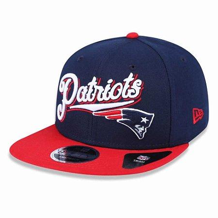 Boné New England Patriots 950 Snapback Logo Sweep - New Era