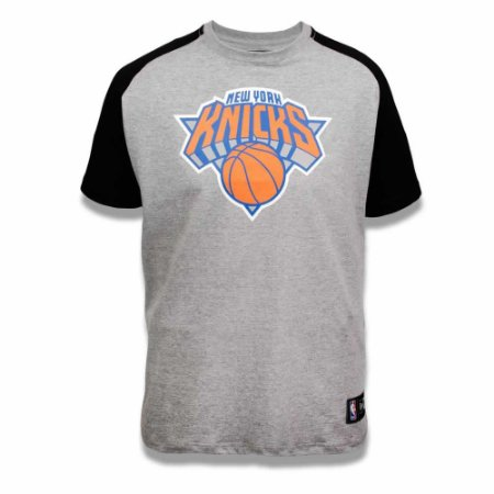 Camiseta New York Knicks NBA Heather Basic - New Era