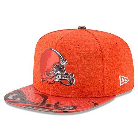 Boné Cleveland Browns DRAFT 2017 On Stage Snapback - New Era