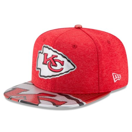 Boné Kansas City Chiefs DRAFT 2017 On Stage Snapback - New Era
