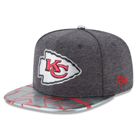 Boné Kansas City Chiefs DRAFT 2017 Spotlight Snapback - New Era