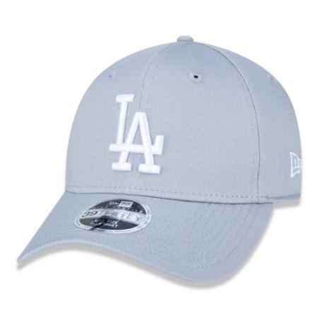 Boné Los Angeles Dodgers 3930 White on Gray MLB - New Era