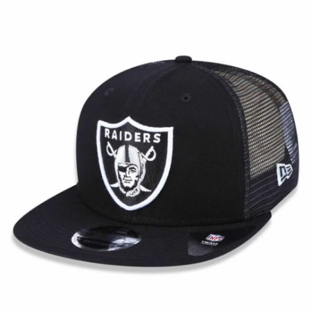 Boné Oakland Raiders Trucker Patched 950 Snapback - New Era