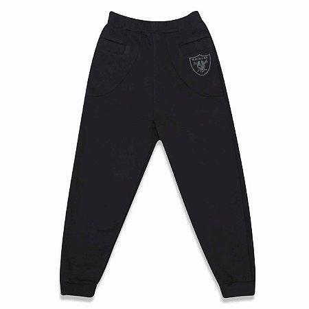 Calça Oakland Raiders Moletom Bolso Vivo NFL - New Era