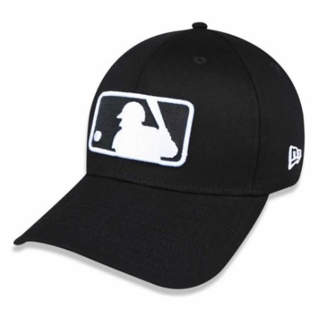 Boné MLB logo 3930 Basic Preto - New Era
