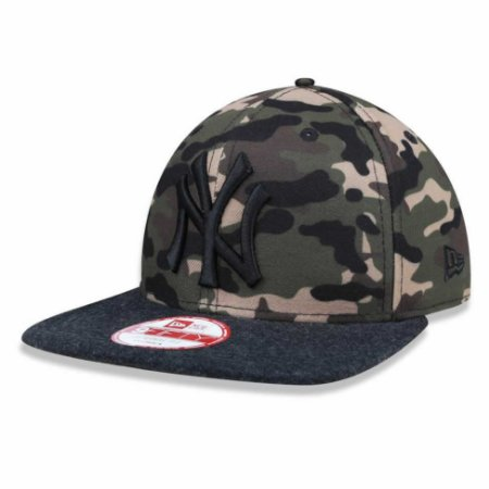 Boné New York Yankees 950 Camuflado MLB - New Era