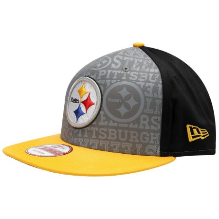 Boné Pittsburgh Steelers 950 Snapback Draft Reflective - New Era