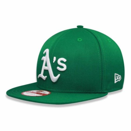 Boné Oakland Athletics 950 White on Green MLB - New Era