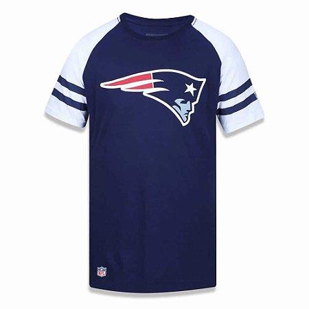 Camiseta New England Patriots NFL Logo Raglan - New Era