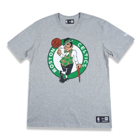 Camiseta Boston Celtics Basic Logo Cinza NBA - New Era