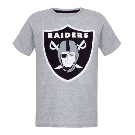 Camiseta Oakland Raiders Cinza - New Era - FIRST DOWN - Produtos ... 9bec0b57346
